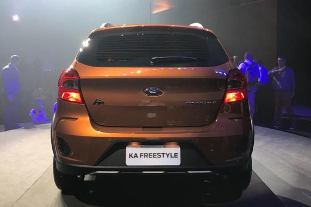 Ford Ka FreeStyle (Foto: Gabriel Aguiar / Autoesporte)