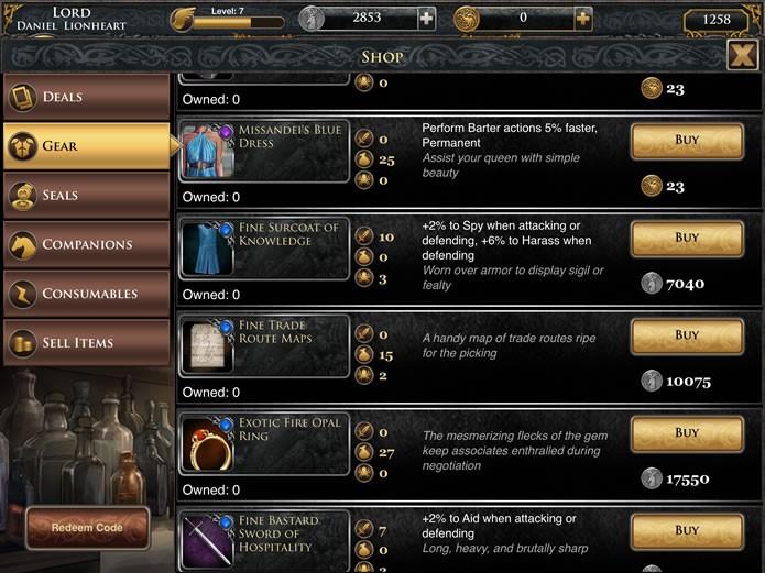 """Apertando """"Shop"""" o jogador poderá acessar a loja do game para comprar armas, equipamentos e acompanhantes (Foto: Reprodução/Daniel Ribeiro)"""