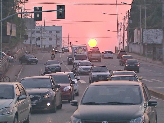 Calor marca fim de semana no Acre  (Foto: Reprodução/TV Acre)