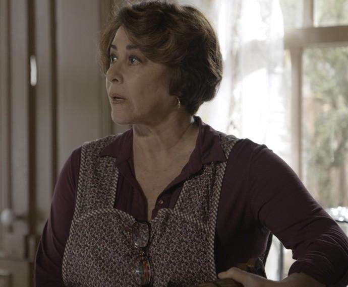 Zilda fica chocada com a atitude da nora (Foto: TV Globo)