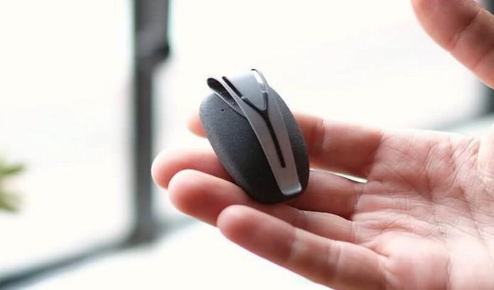 Dispositivo Spire monitora estresse a ajuda usuários a cuidar da saúde (Foto: Divulgação/Spire)
