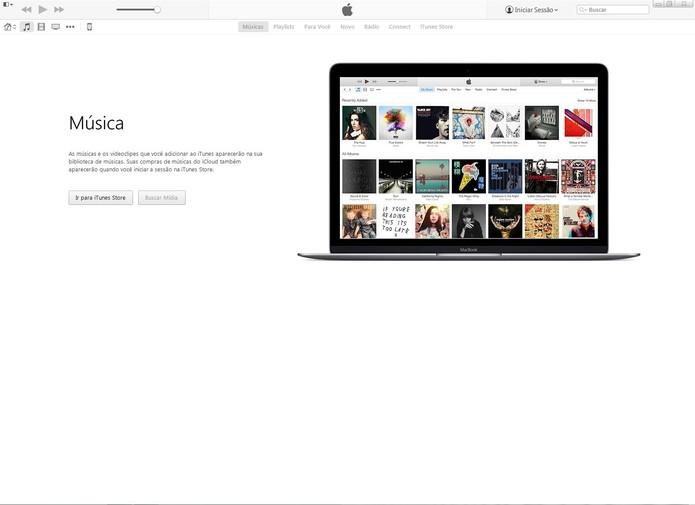 Abra o iTunes e conecte seu iPhone no PC (Foto: Reprodução/Caio Bersot)