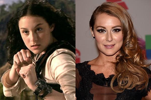 Alexa Vega começou a ficar conhecida em 2001, quando encarnou a protagonista Carmen em 'Pequenos Espiões' pela primeira vez. Hoje a atriz tem 26 anos, é casada e faz algumas participações em filmes e séries, como 'Nashville'. (Foto: Divulgação/Getty Images)