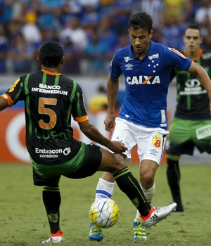 Henrique; Cruzeiro; América-MG (Foto: Washington Alves/Light Press)