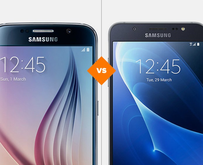 67b91ff96 Samsung Galaxy S6 ou Samsung Galaxy J7 metal, qual celular é o melhor  investimento?