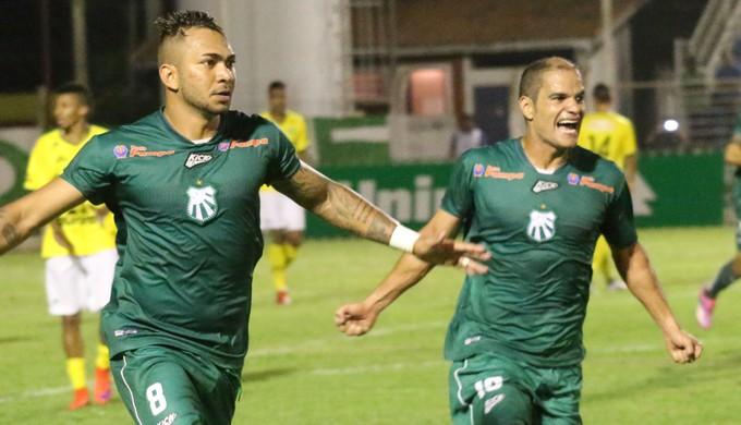 Caldense e Ypiranga-RS, jogo de ida das oitavas (Foto: Luciano Santos/Mantiqueira)