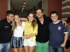 Ex-BBB's se reúnem em hotel à espera da final do reality show