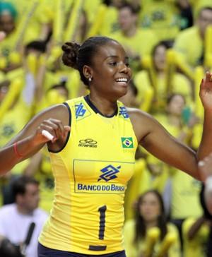 Fabiana seleção vôlei Grand Prix (Foto: Divulgação/FIVB)
