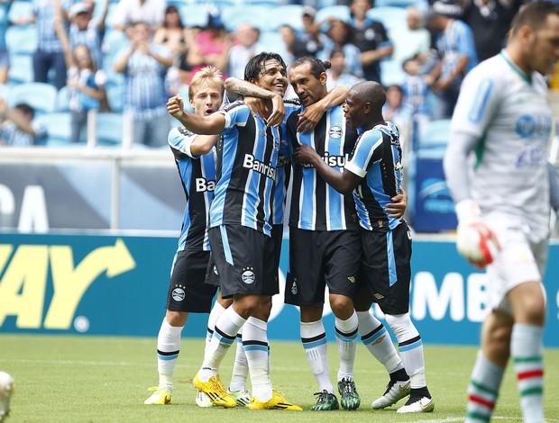 Grêmio União Frederiquense Gauchão Gol de Barcos (Foto: Lucas Uebel/Grêmio Divulgação)