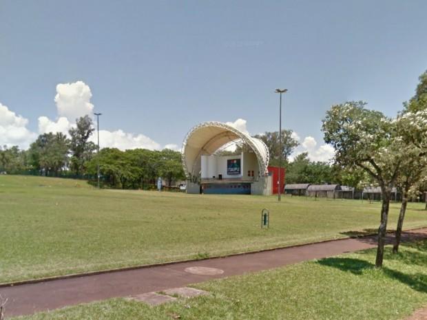 Evento será realizado no domingo (20), no Gramadão da Vila A, entre as 17h e as 20h, em Foz do Iguaçu (Foto: Google / Reprodução)