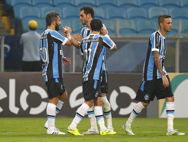 grêmio campinense copa do brasil arena giuliano douglas rhodolfo gol