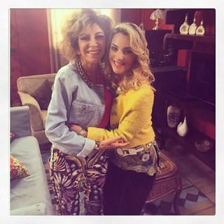 Marília Pêra e Paula Frascari (Foto: Reprodução/Instagram)