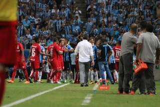 Gre-Nal 409, Arena, Grêmio, Inter, confusão (Foto: Diego Guichard / GloboEsporte.com)