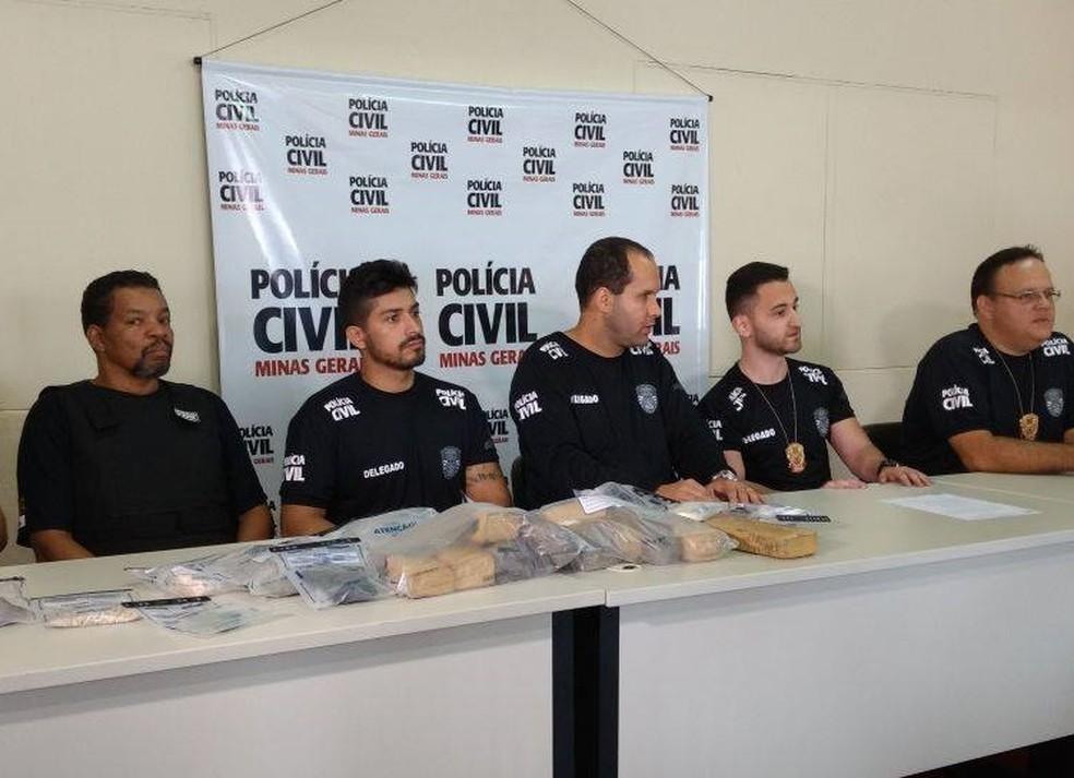 Balanço de operação em cinco cidades do Centro-Oeste de Minas foi apresentado em Divinópolis (Foto: Cledson Ferreira/G1)