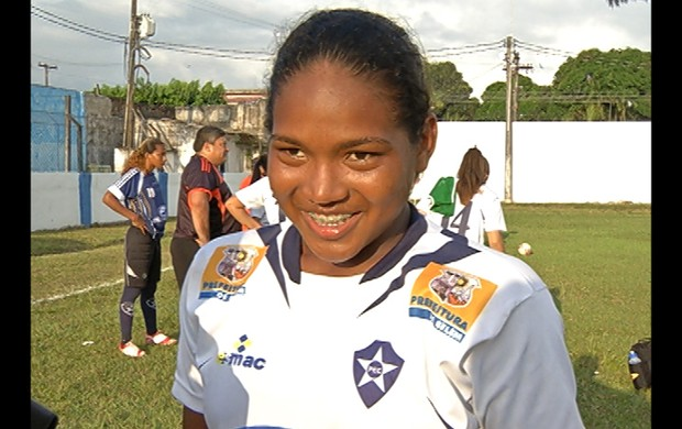 Irley - atacante do Pinheirense (Foto: Reprodução / TV Liberal)