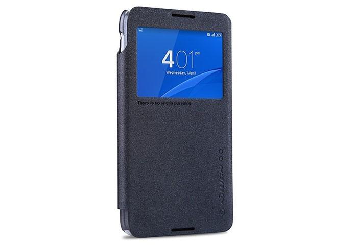 Sony Xperia E4 tem opção de capa com janela de ações flip (Foto: Divulgação/Nillkin)