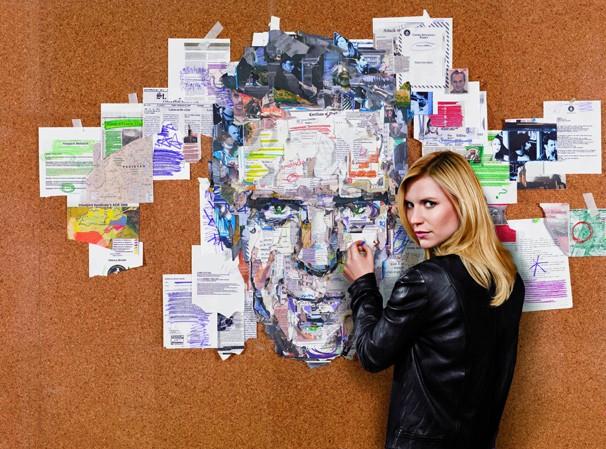 Carrie Mathinson (Claire Danes), uma investigadora da CIA que acredita que o soldado Nicholas Brody (Damian Lewis) se tornou um terrorista (Foto: Divulgação)