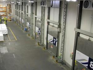 Área de cargas frias do Aeroporto Internacional de Viracopos, em Campinas (Foto: Nando Dalberto/Aeroportos Brasil Viracopos)
