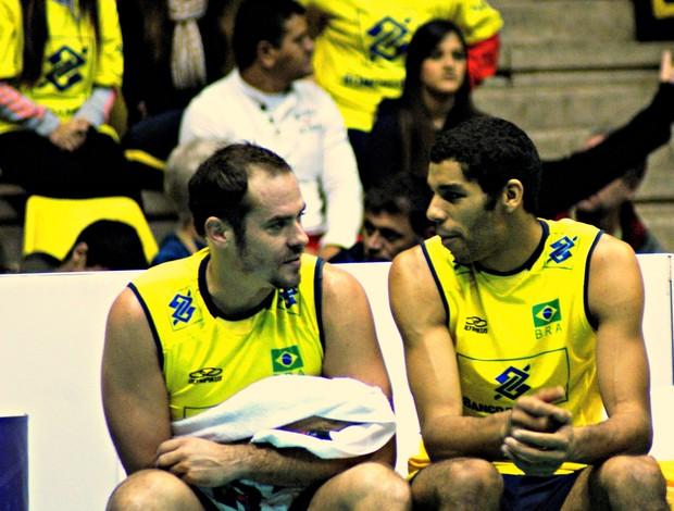Ricardinho Wallace Liga Mundial vôlei (Foto: July Stanzioni / Divulgação)