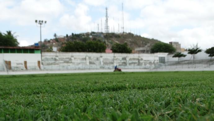 Estádio Antônio Inácio de Souza (Foto: Vital Florêncio / GloboEsporte.com)