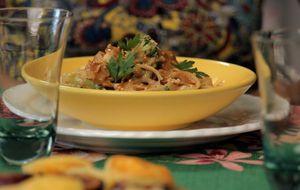 Pad thai da Bela Gil: veja como fazer macarrão de arroz tailandês