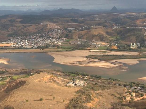 Situação em município da região Noroeste do Espírito Santo (Foto: Reprodução/ TV Gazeta)