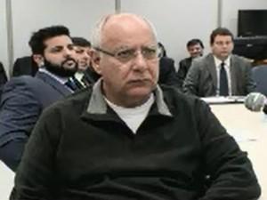 Renato Duque ficou mudo perante a Justiça Federal nesta terça (3) (Foto: Reprodução)