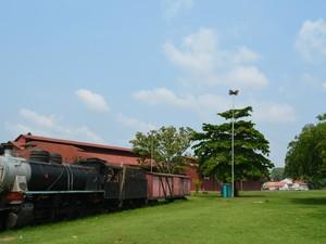 tempo RO Porto Velho, Estrada de Ferro Madeira Mamoré (Foto: Mary Porfiro/G1)