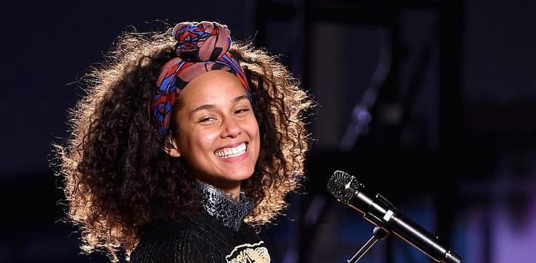 Alicia Keys (Foto: Reproduo)