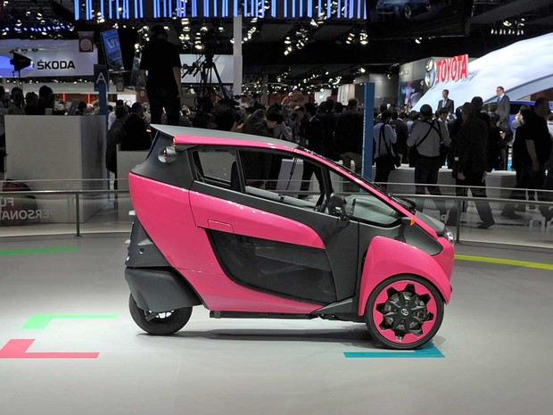 Toyota i-Road. (Foto: Eric Permont / AFP Photo)