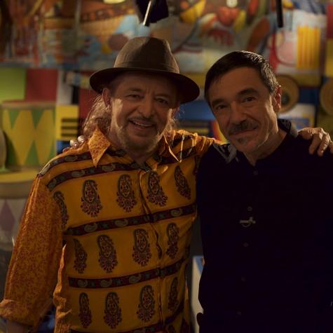 Geraldo Azevedo e Charles Gavin (Foto: Divulgação)