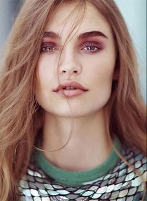 A modelo holandesa Roosmarijn de Kok, de 19 anos (Foto: Reprodução/Facebook/Roosmarijn de Kok)