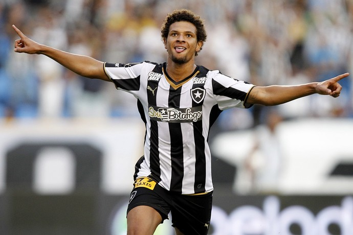 Willian Arão Botafogo x Vitória (Foto: Vitor Silva / SSPress)