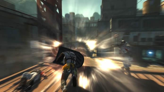 Os Shield Troopers são avatares pesados e com grandes escudos invulneráveis, que também podem servir de arma (Foto: Divulgação/MAIET Entertainment)