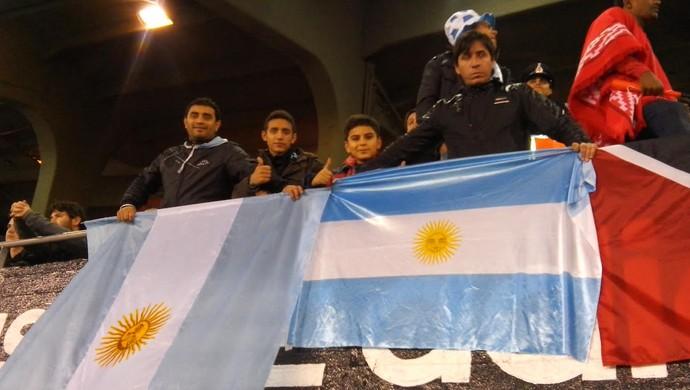 Torcida, Argentina x Trinidad e Tobago (Foto: Felippe Costa)