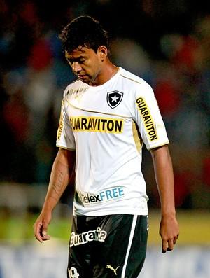 Wallyson jogo Botafogo e Deportivo Quito pré-Libertadores (Foto: AP)