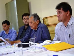 Federação discutiu alguns itens (Foto: Felipe Martins/GLOBOESPORTE.COM)