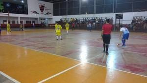 Oratório ; AABB; Futsal; Sub-20; Amapá (Foto: Divulgação/FAFs)