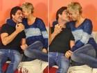 Xuxa nega gravidez: 'É porque eu estou namorando e estou gordinha'