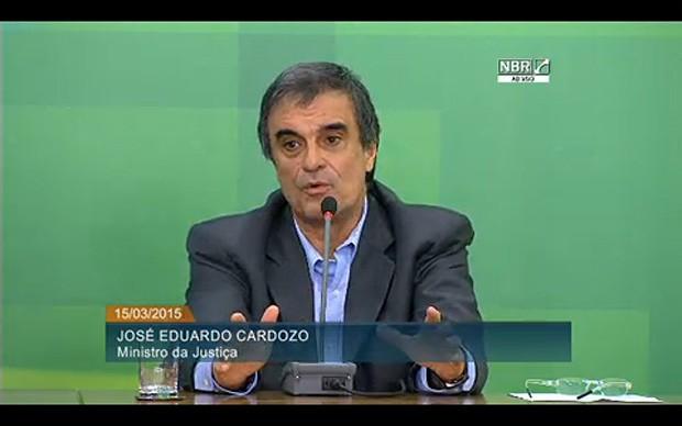 José Eduardo Cardozo  (Foto: Reprodução)