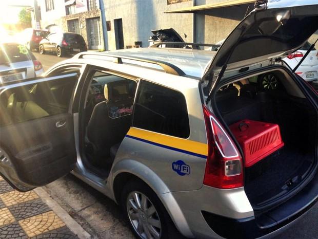 Também é possível transportar bichinhos para outras cidades (Foto: Divulgação)