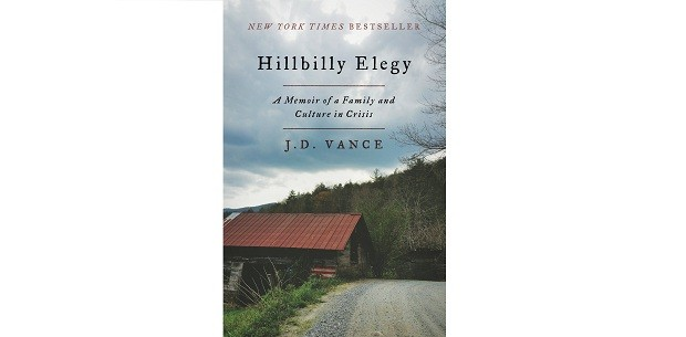 Capa do livro Hillbilly Elegy: A Memoir of a Family and Culture in Crisis, de J. D. Vance (Foto: Divulgação)