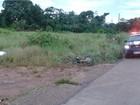 Motociclista morre após se chocar contra caminhonete em Cacoal, RO