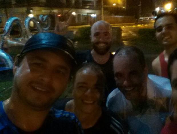 Pedro Vieira e amigos treino corrida