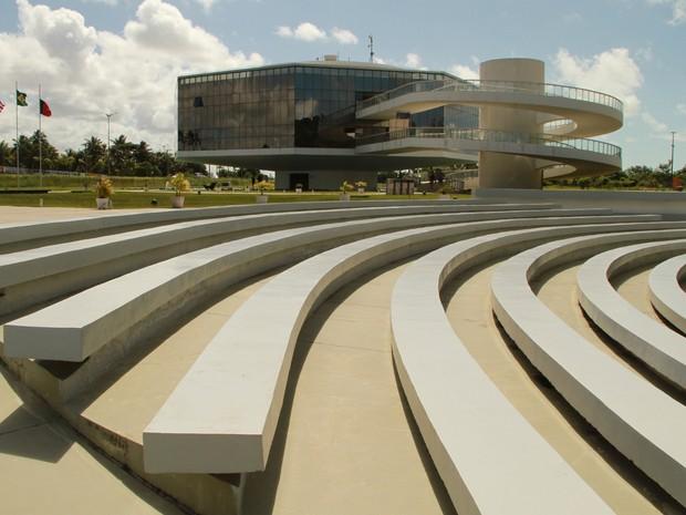 Anfiteatro da Estação Cabo Branco, em João Pessoa (Foto: Rizemberg Felipe/Jornal da Paraíba)