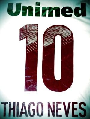 camisa 10 thiago neves fluminense (Foto: Reprodução / Twitter)