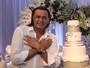 Frank Aguiar recebe famosos no seu aniversário de 46 anos em São Paulo