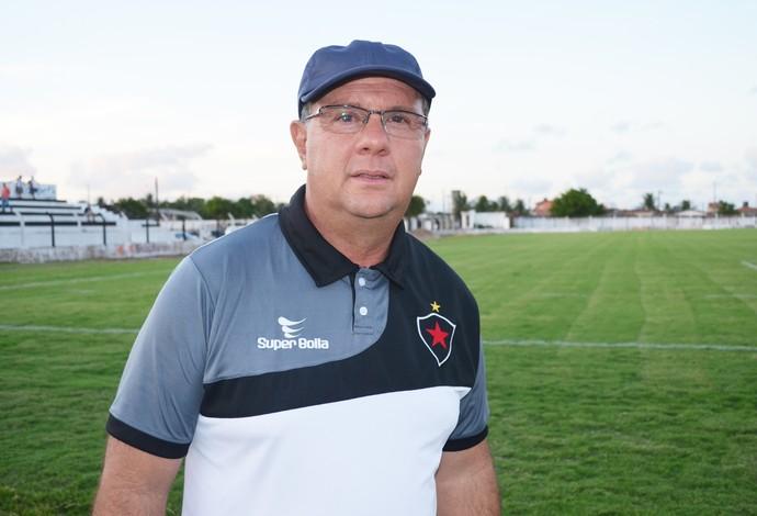 Marcelo Vilar, técnico do Botafogo-PB (Foto: Lucas Barros / GloboEsporte.com)