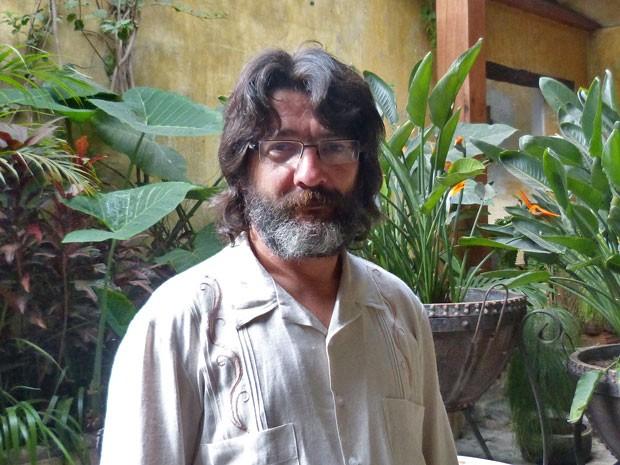 Cesar Troncoso (Foto: Flor do Caribe / TV Globo)
