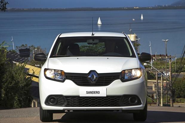 Renault Sandero 1.0 Authentique (Foto: Divulgação)